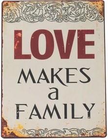 Placa Decorativa Family