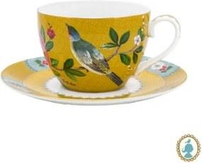 Xícara de Chá Amarelo - Blushing Birds - Pip Studio