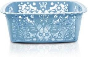 Cesto Organizador Lifestyle Quadrado Pequeno Azul - Jacki Design