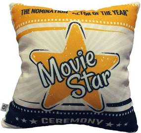 Almofada Cinema Movie Star 40x40cm Cosi Dimora