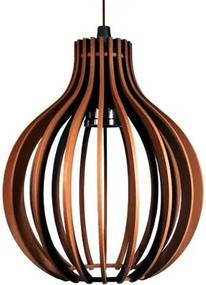 Pendente de madeira   21x18cm   Chocolate   Mod: Bali