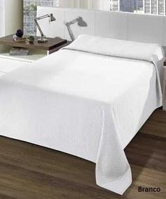 Colcha Casal Marrocos Liso - Branco