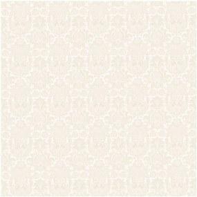 Papel de Parede Arabesco Bege 52cm x 10m Novo Encanto