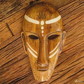 Máscara Étnica Preto e Branco
