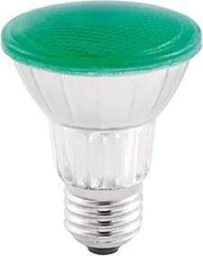 lâmpada PAR20 led 7w verde IP65 externo Stella STH6090/VD