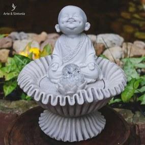 Fonte de Monge Meditando | Marmorite