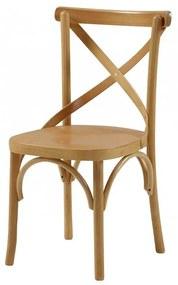 Cadeira de Jantar X Espanha sem Braço  - Wood Prime TT 33241