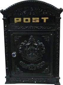 Caixa Correio Post Metal de Parede
