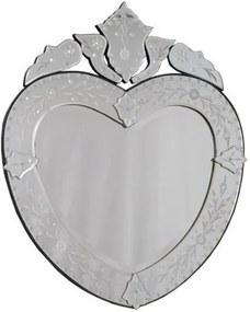 Espelho Coração Veneziano 75x64cm