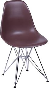 Cadeira Eiffel Eames DSR Café