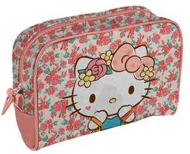Necessaire Hello Kitty Laço Rosa