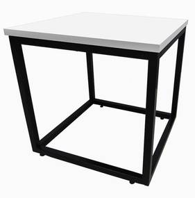 Mesa de Centro Dallas Branco - Fit Mobel