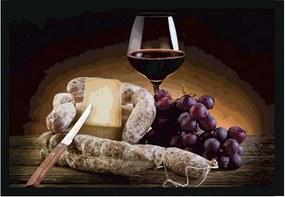 Quadro Vinho & Queijo