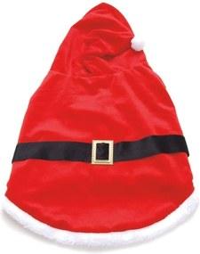Roupa Papai Noel Para Cachorro Gato Roupa Médio Vermelho