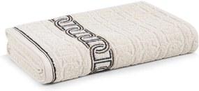 Toalha de Banho Karsten Malmo Bege Bone 70 X 140 Cm