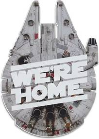 Porta Chaves Falcon We're Home Star Wars