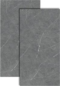 Porcelanato Marmi Grafite Lux Polido Retificado 62x120cm - P60515 - Embramaco - Embramaco
