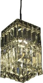 Lustre Clássico em Cristal 20 x 14 cm