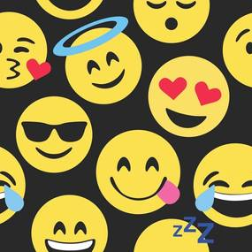 Papel de Parede Emoji Dark