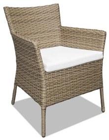Cadeira Peruíbe Área Externa Fibra Sintética Estrutura Alumínio Eco Friendly Design Scaburi