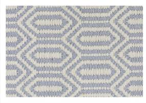 TAPETE KILIM OASIS 2 LIGHT BLUE