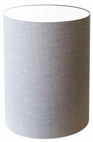 Cúpula Abajur Cilíndrica Cp-8003 Ø15x20cm Rustico Cinza