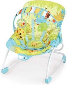Cadeira De Descanso Mastela Rocker Animais Verde