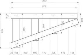 Estante Multiuso Organizador Life 1001 Carbono Trama - BE Mobiliário
