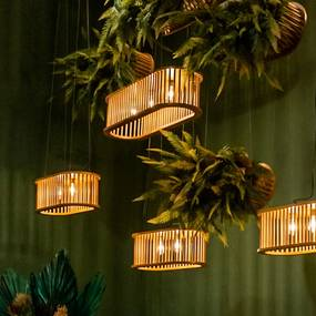 Luminária Cozi 80cm - Taís Puntel - Mel Pinus  Kleiner Schein