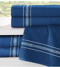 Toalha de Rosto Teka Dry Azul 340g/m²