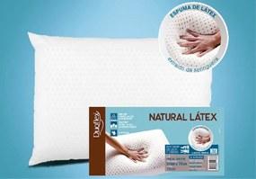 Travesseiro de Látex BAIXO - Capa 100% algodão 200 fios - 50 x 70 cm - Duoflex
