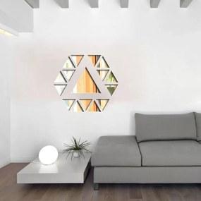Espelho Decorativo Triângulos