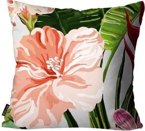Almofadas Mdecore Flores Verde45x45cm