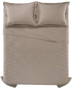 e71d729077 Colcha Cobre Leito Com Porta Travesseiro Karsten 180 Fios Liss Taupe -  Tamanho  King