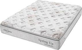 Colchão King Size Spring Up 193x203x30 Cinza Americanflex