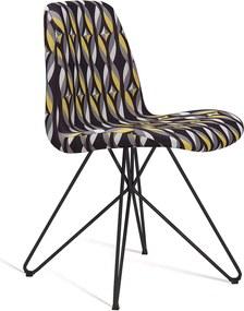 Cadeira Eames com Base Butterfly Preto DAF