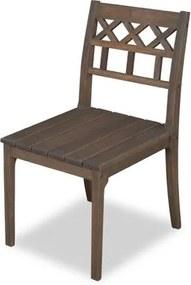 Cadeira Isabella para Área Externa em Madeira Eucalipto - Castanho