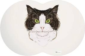 Tapete PET Gato Cinza54x39cm