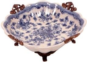 Prato Decorativo de Porcelana Bagan I