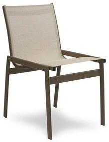 Cadeira Pool Área Externa Tela Sintética Estrutura Alumínio Eco Friendly Design Scaburi