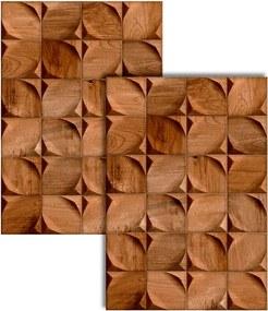 Revestimento Bloc Canela Acetinado Retificado 43,7x63,1cm - 8421 - Ceusa - Ceusa