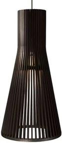 Lustre Rústico a LED Pendente de Madeira Modelo Tauri