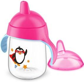 Copo Pinguim 340ml Avent Rosa