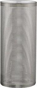 Vaso prata em vidro Grande 28cm - 7727 Mart