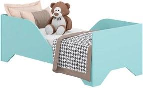Cama Mara Infantil 100% MDF Azul Premium