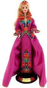 Barbie De Porcelana Royal Splendor Com Swarovski 1993