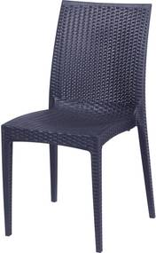 Cadeira Rattan Preto OR Design