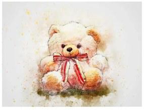 Quadro Para Quarto de Bebê Urso de Pelúcia - KF 48441 40x60 (Moldura 520)