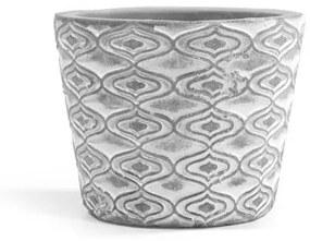 Mini vaso de cimento energia