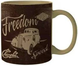 Caneca Carro Vintage Car Freedom GM Chevrolet